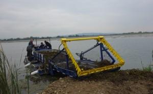Echipamentl Flotabil pentru recoltat macrofite Berky 6520