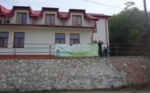 Campusul Universitătii Eftimie Murgu din localitatea Coronini